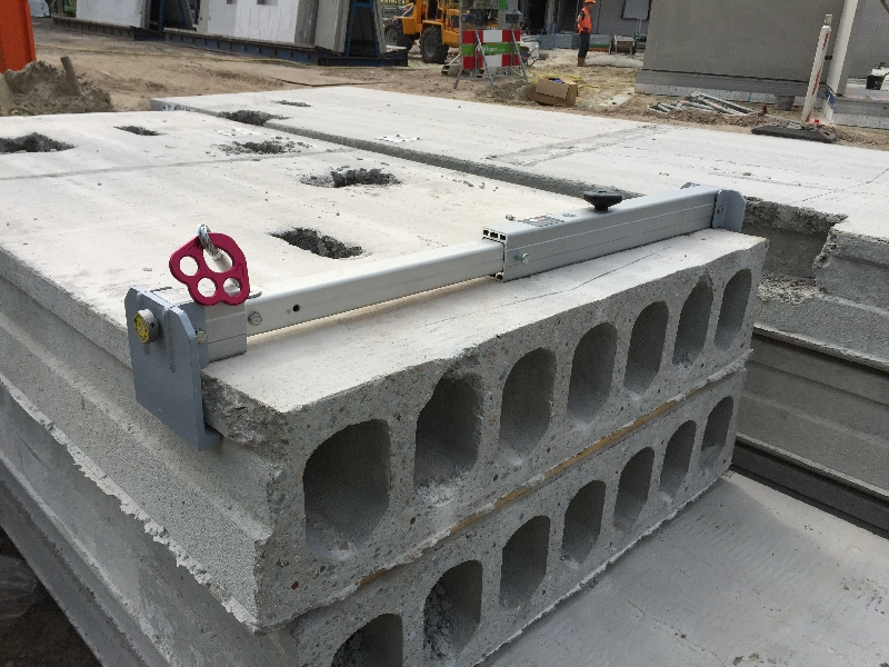 Hollow Concrete Clamp Eyecatcher Mobile Fall Protection KanaalplaatAnker detail
